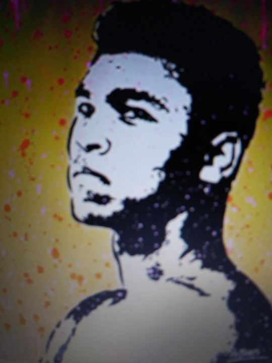 Muhammad Ali - Celebrity Art work