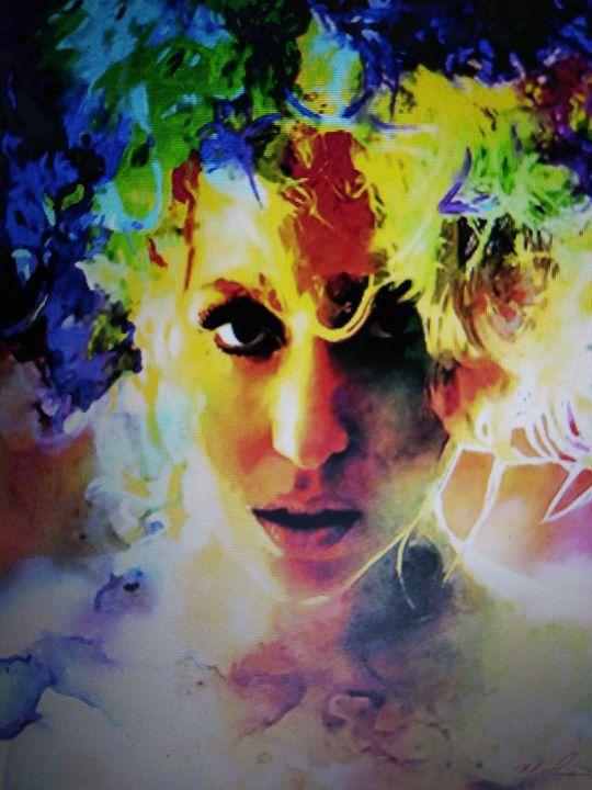 Lady Gaga - Celebrity Art work