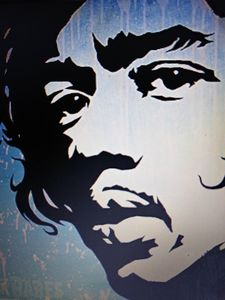 Jimi Hendrix - Celebrity Art work