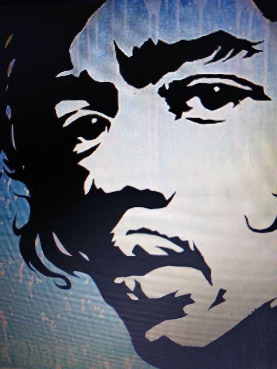 Jimi Hendrix - Celebrity Art work