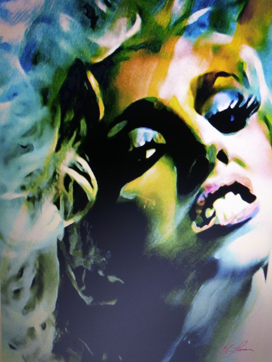 Lady Gaga - Celebrity Art work