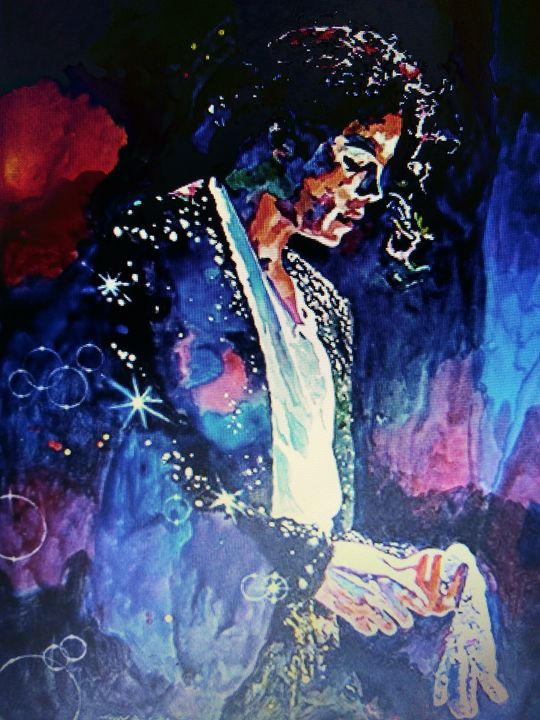 Michael Jackson - Celebrity Art work