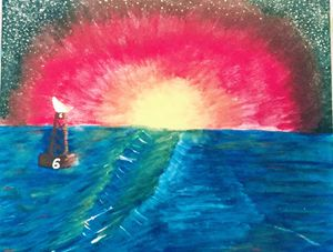 """""""Explosive Sunset"""""""