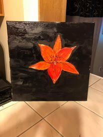 Stargazer Lilly - Ron's paintings