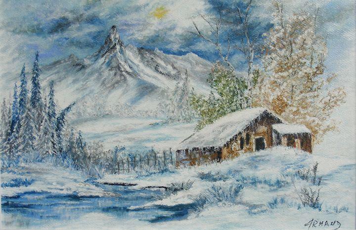 "WINTER IN ""RETEZAT"" MOUNTAINS - ARMAND EUGEN"