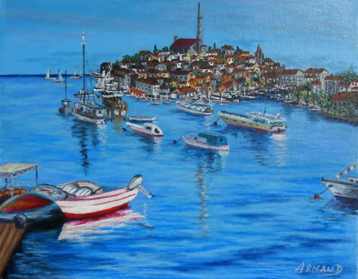 ROVINJ HARBOR ( CROATIA) - ARMAND EUGEN