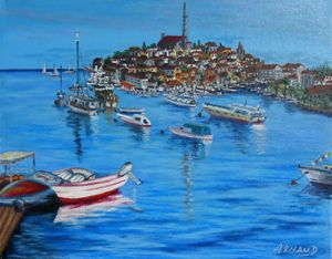 ROVINJ HARBOR ( CROATIA)