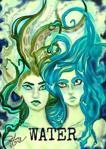 Elemental Water art print