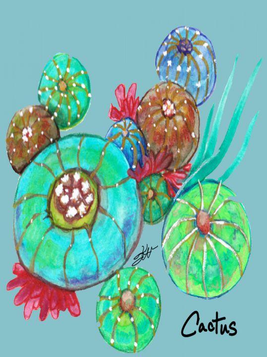 Cactus Collection. - Kimber Kiwi Art