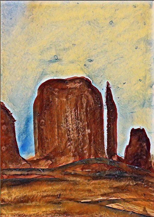 Mesa - Kimber Kiwi Art