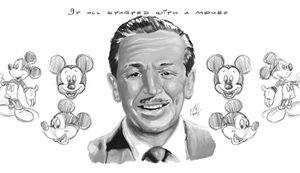 Walt Disney Black and White
