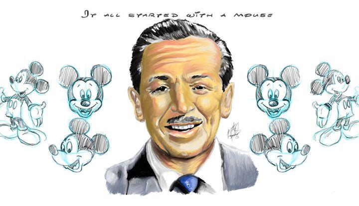 Walt Disney - Brett's Art