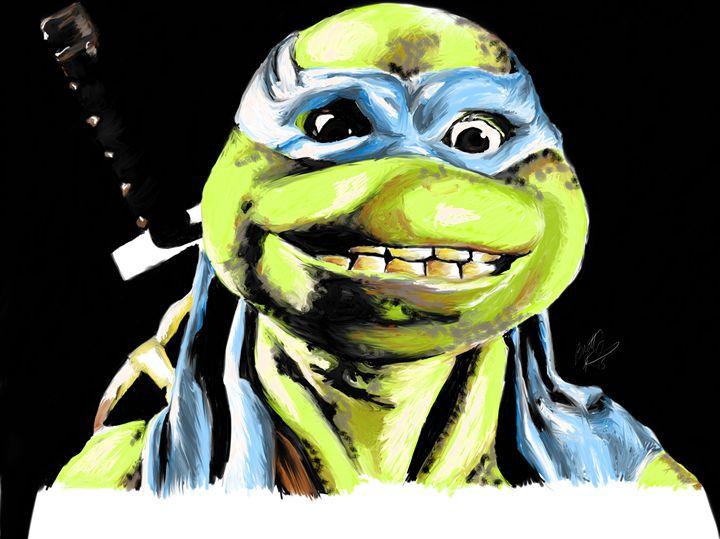 Hey Leonardo - Brett's Art