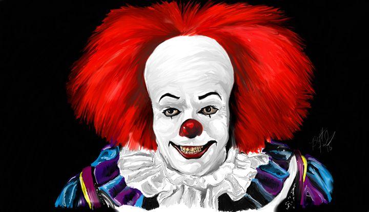 Hiya Georgie! - Brett's Art