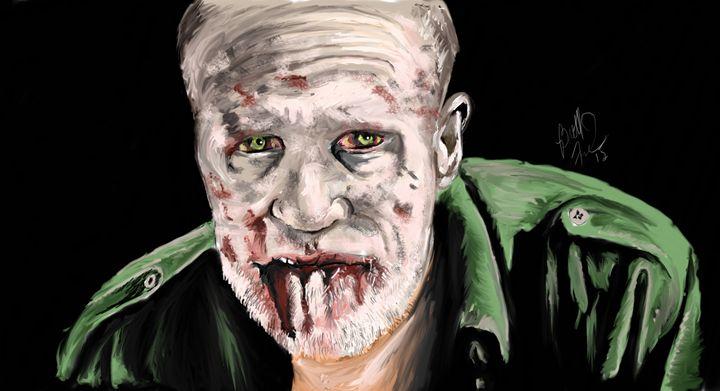 Zombie Merle - Brett's Art