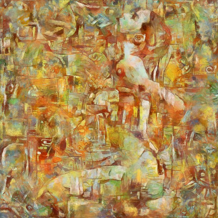 Abstract composition - Potocek
