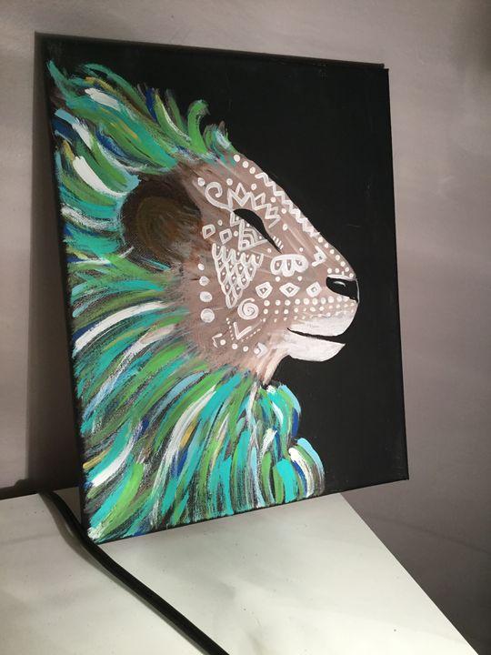 Boho lion - Anna
