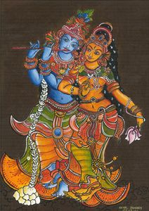 krishnan and radha