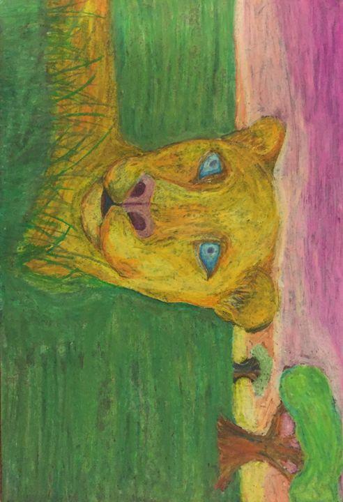 Lioness in tall grass - Erin pegram