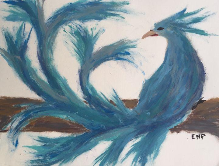 Blue pheonix - Erin pegram