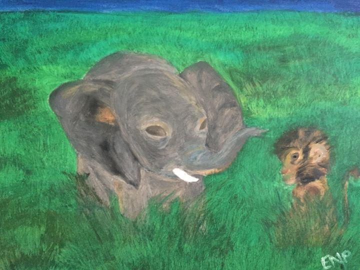 Animal friends - Erin pegram