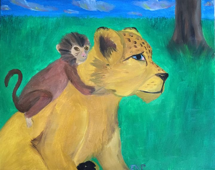 Animal friends 2 - Erin pegram