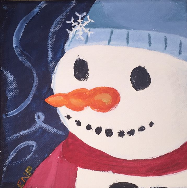 Frosty snowman - Erin pegram