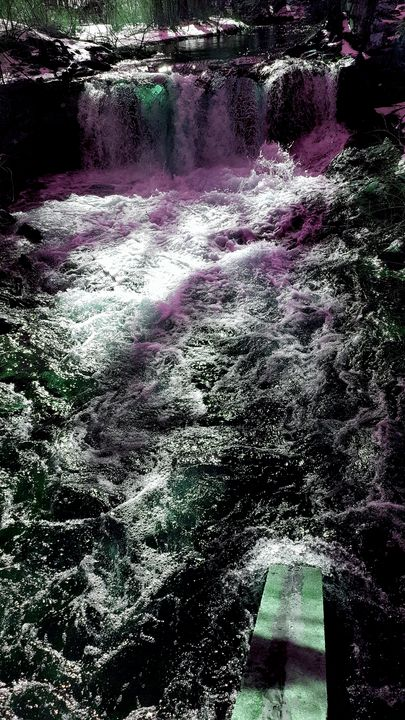 Winter water scene 4 - James M. Piehl