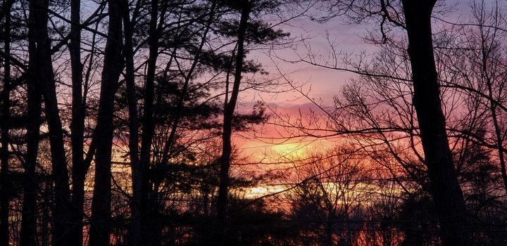 Sunset, New England - James M. Piehl