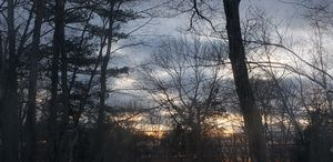 Winter Sunset in New England