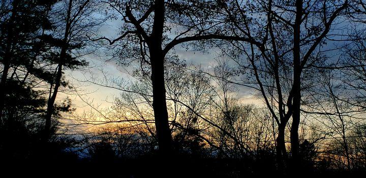 Classic November sunset - James M. Piehl