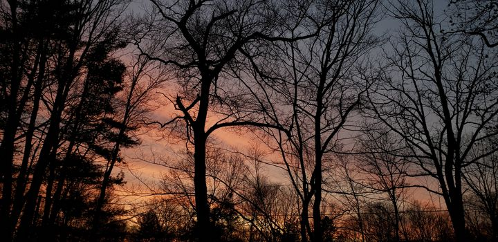 Beginning of sunset - James M. Piehl