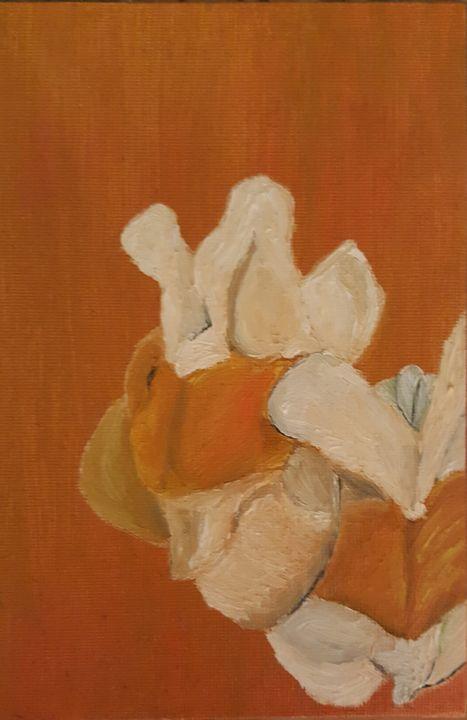 Flowers on panel - James M. Piehl