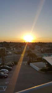 Sunset over Boulevard