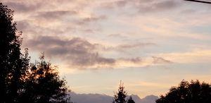 Pastel skyscape