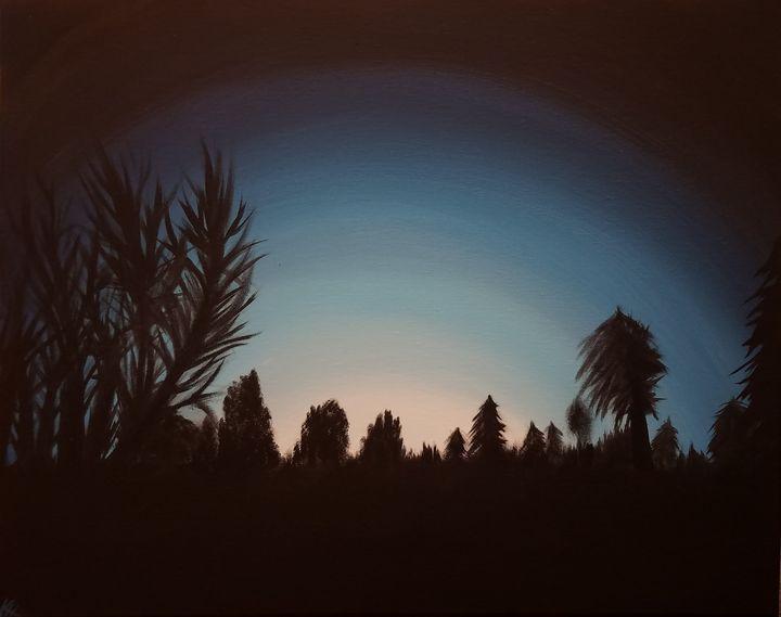 Winter Sunset - Kayla Hunnicutt