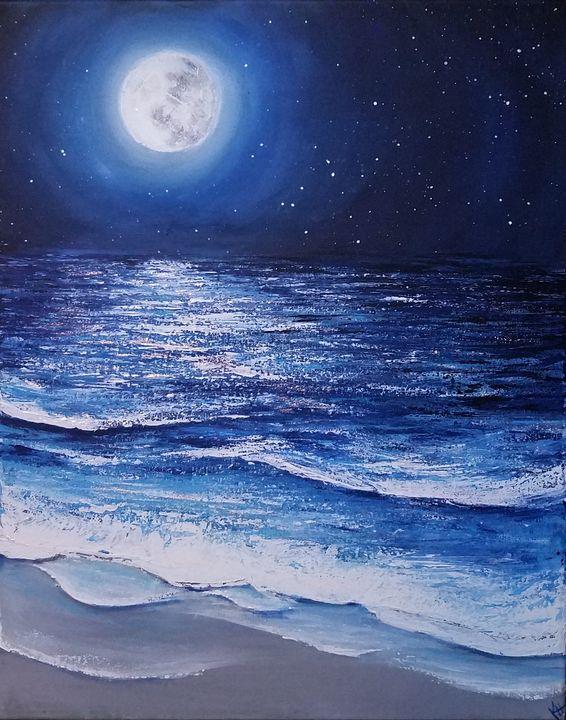Blue Moon - Kayla Hunnicutt