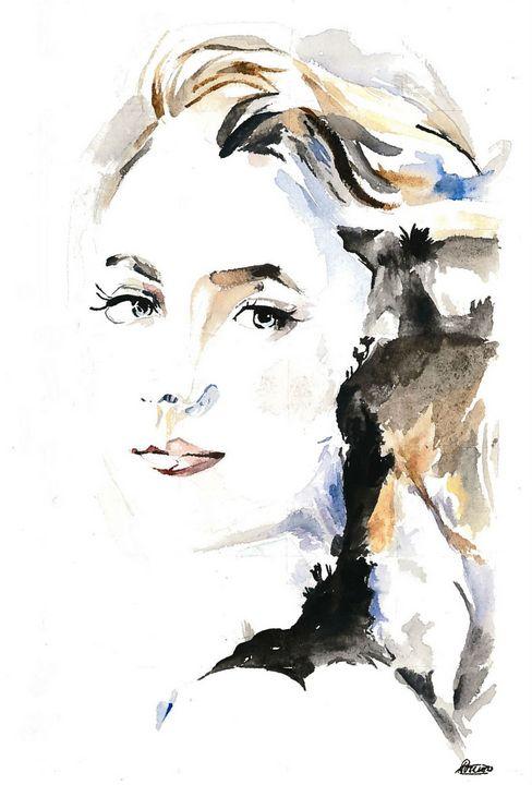 lady's face - Arwa Ayub
