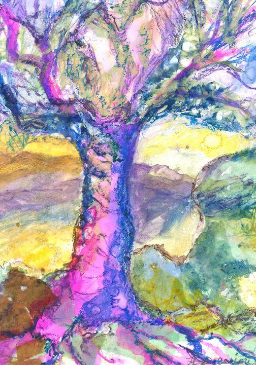"""Spirit Tree"" - Hally DeCarion's Paintings"