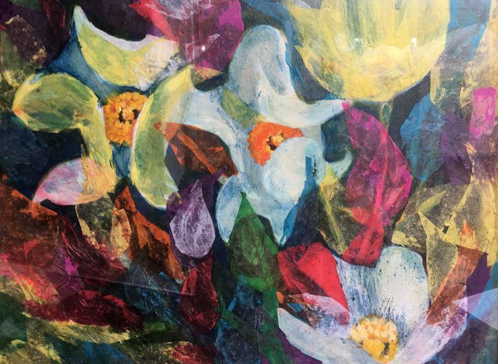 """""""Flower Fusion"""" - Hally DeCarion's Paintings"""