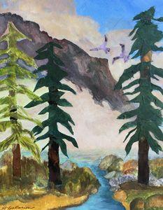 """Early Morning Fog, Yosemite Valley"""