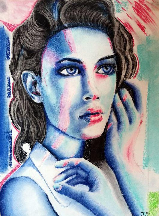 Blue ice - Joshua Page Lenihan