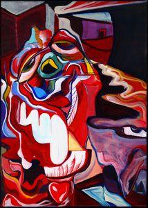 """Limb"" Acrylic on Canvas"