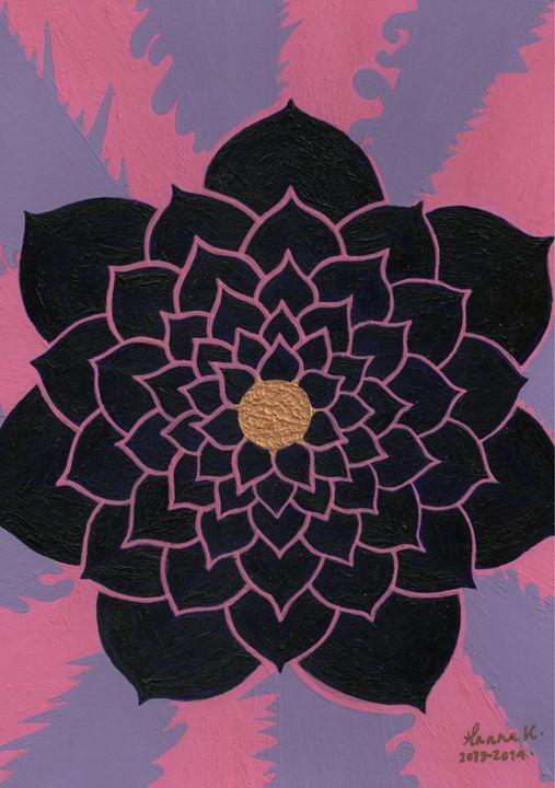 Power For His Flower - HannaKhash Art