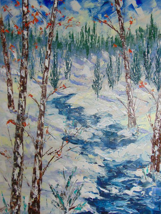 Aspen trees CO - Frederic Payet Art