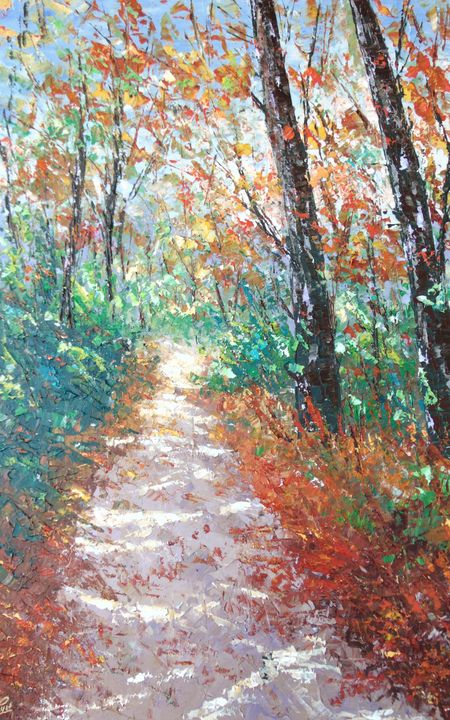 Asheville NC Fall - Frederic Payet Art