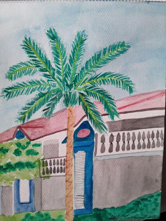 CARIBBEAN RESORT HOUSE - Gail Cavanaugh Art