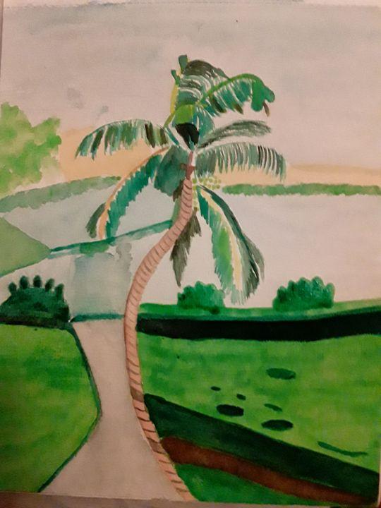Palm Tree - Gail Cavanaugh Art