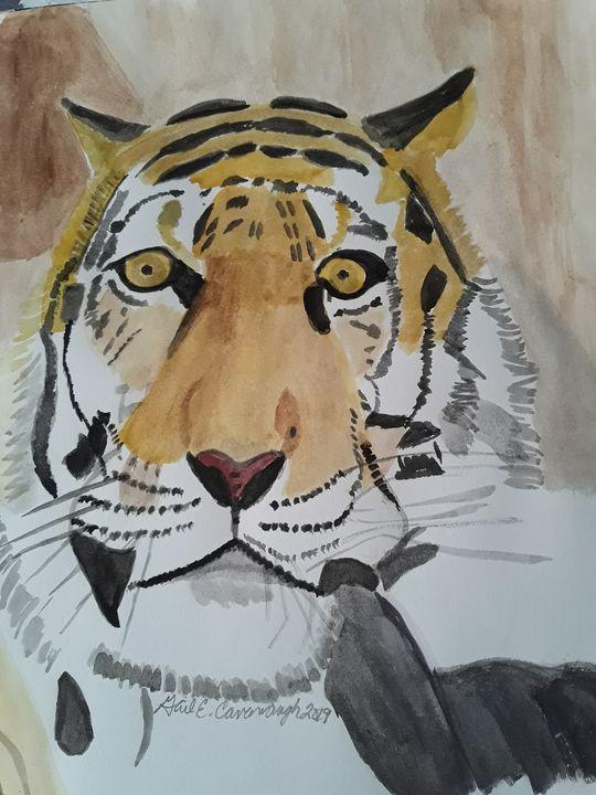 Tiger Eyes - Gail Cavanaugh Art