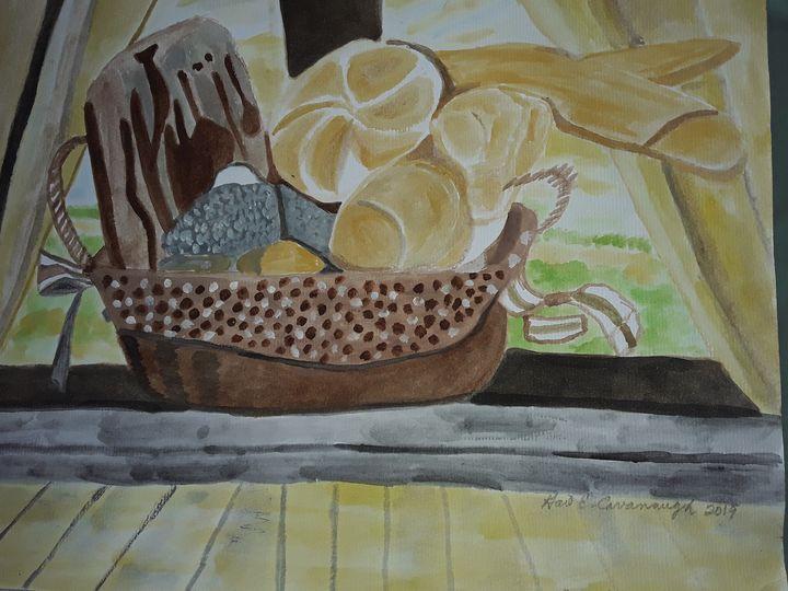 Bread of Life - Gail Cavanaugh Art
